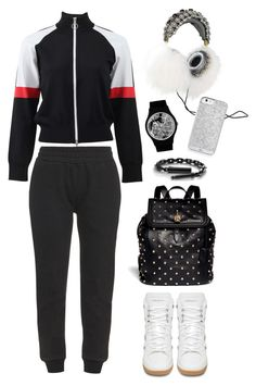 """""""T by Alexander wang track jacket"""" by thestyleartisan ❤ liked on Polyvore featuring Dolce&Gabbana, T By Alexander Wang, May28th, adidas Originals, Alexander McQueen and Yves Saint Laurent"""