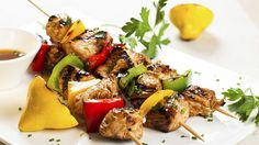 Hungry Girl's Day-Off Diet Chicken and Veggie Kebabs | The Dr. Oz Show
