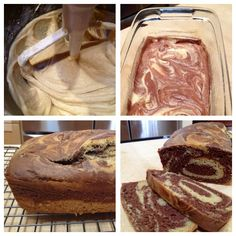 Gluten Free Marble Sweet Bread
