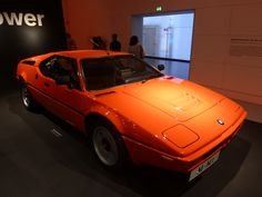 Here is a BMW M1 @ the BMW Museum in Munich, Germany