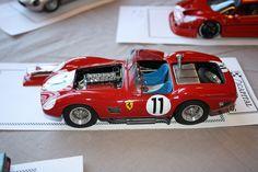 Scale Model Ferraris.