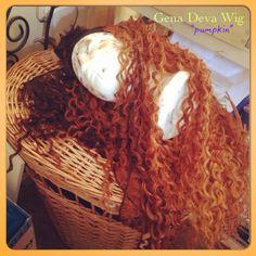 "Working on another Gena Deva Wig her name ""pumpkin"" organic Salon Brooklyn New York"
