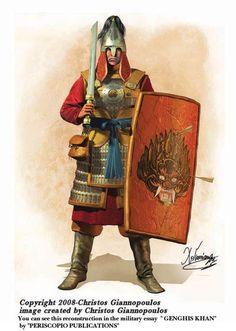 Mongolian heavy foot soldier
