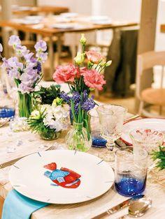 Mesas para recibir a tus invitados
