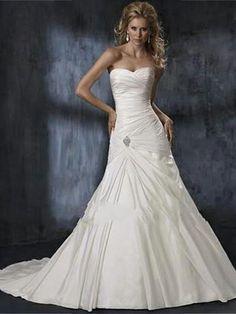 Christine-Vestido de Noiva em tafetá - dresseshop.pt