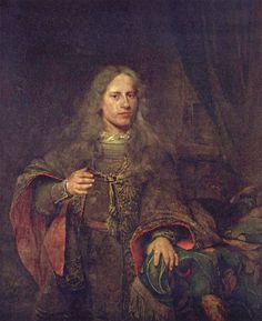 Aert de Gelder, Portrait of Ernst van Beveren