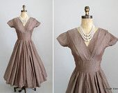 Vintage 50's - love it with pearls!