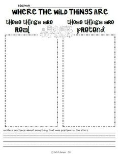 First {& 2nd} Grade Fever!: This is Where the Wild Things Are!