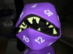 Yes.  For all my dice.  http://www.etsy.com/listing/60669433/chompd20