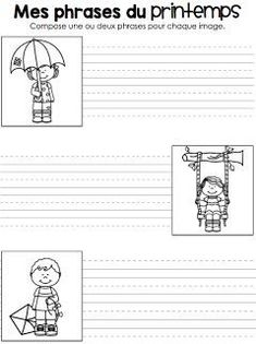 Read In French, French Kids, Learn French, French Teaching Resources, Teaching French, Teaching Tools, Grade 1 Reading, French Worksheets, French Education