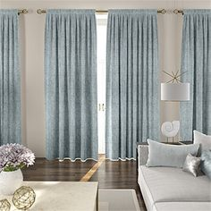 Linen Curtains, Shop the Eternity Linen Range Online Today Silver Curtains, Teal Curtains, Luxury Curtains, Linen Curtains, Curtains With Blinds, Curtains Living, Cheap Curtain Rods, Bed Drapes, Drapery Designs