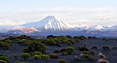 Mount Ngauruhoe, on the central plateau of New Zealand's North Island, stands in for Tolkien's Mount Doom volcano Hobbit Films, New Zealand North, Lord, An Unexpected Journey, Before I Die, Middle Earth, The Hobbit, Mount Rainier, Places To See