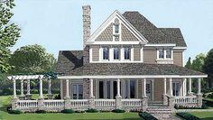 love the floor plan that goes with this farm house