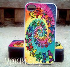 the gratefull dead    iPhone 4/4s/5/5c/5s Case  by NDARIcuy, $13.55
