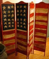 American Flag Doors