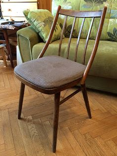 Handmade from NataliSha: Обновление стула