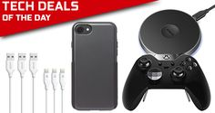 Tech Deals: Xbox Elite Controller + Free Gift Card, $3 iPhone 7 Plus Case, Lightning Cables, More  #news