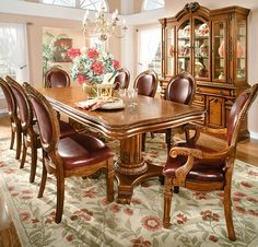 Shop online for quality furniture for your dining room. Bedroom Furniture Sets, Dining Room Furniture, Luxury Furniture, Dining Room Sets, Dining Room Table, Dining Chairs, Dinning Table Design, Turquoise Room, Victorian Furniture