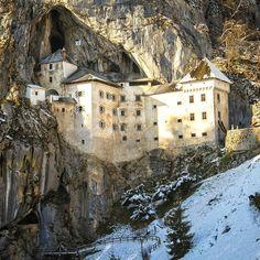 Predjama Castle  Slovenia by oldkyrenian