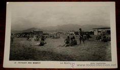 ANTIGUA FOTO POSTAL DE TETUAN (MARRUECOS) RIO MARTIN - LA PLAYA - 27 FOTO CALATAYUD - SIN CIRCULAR - Foto 1