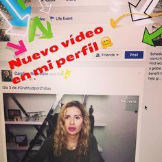 Ya puedes ver el vídeo del día 3 de #gratitudpor21dias en mi perfil de Facebook   #rompiendoparadigmas  #gratitud #redessocialespositivas #bienestarholistico