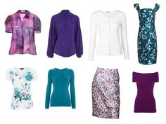 Build a Capsule Wardrobe Starting with Nature: floral landscape as an inspiration
