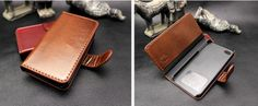 Leather iPhone 5 Case w/Credit Card Slot iPhone by VortexLimited, $29.99