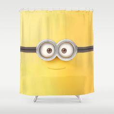 Charming Minion Minions Shower Curtain