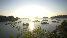 Download free stock video footage featuring Ha Long Bay at Sunset. Click here to download royalty-free licensing videos from Videvo today.