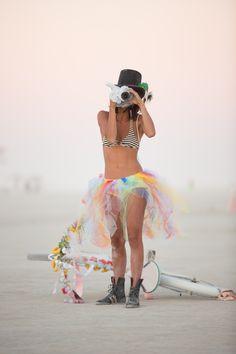 Burning Man Portrait
