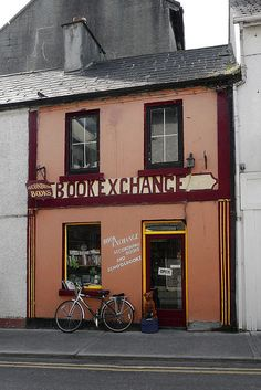 Book Exchange - A Galway Bookshop by Child of Danu, via Flickr