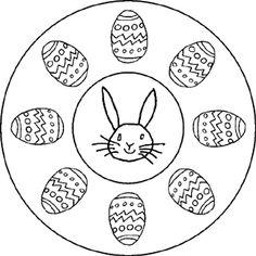 Mandala pääsiäismunat