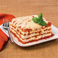 Classic Cheese Lasagna Recipe- Recipes Recipe provided by Galbani® Italian Cheese