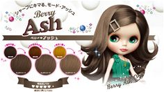 Go Hálainn: Review: Blythe Fresh Light Berry Ash Hair Color