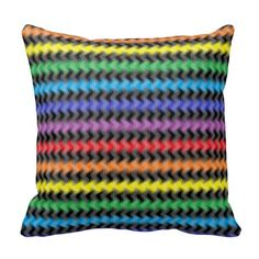 Twisted Colors Pillow