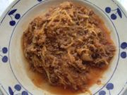 Recette Courge spaghetti à la bolognaise
