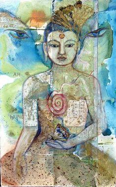 Kelledia's Garden • Buddha art.