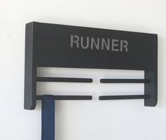 Running Medal Holder  Runner by ImproveResults on Etsy, $25.95