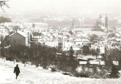 Winter Prague by S.Tuma, 1980