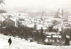 Winter Prague by S.Tuma, 1980