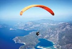 Paragliding is like flying - you use thermal up-drafts to stay in the air - this is very different from parachuting where you just fall slowly. Paragliding is as close to being a bird as you can get - I love the idea and have always wanted to do it. Adventure Activities, Adventure Tours, Adventure Awaits, Sky Surfing, Dangerous Sports, Paragliding, Life Is A Journey, Outdoor Activities, Places To Go