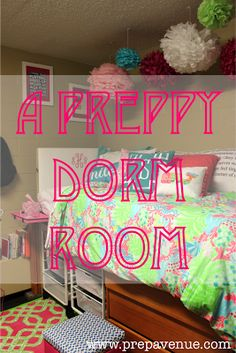 Preppy Dorm Rooms