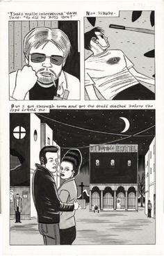 Original art by Daniel Clowes, from Blab #5,...