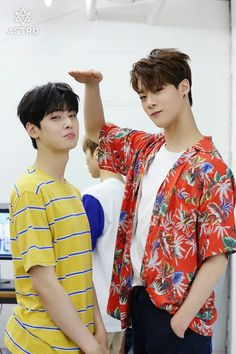 Eunwoo & Moonbin