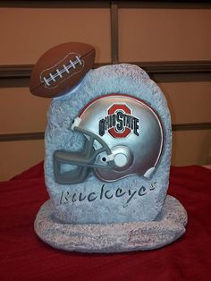 Hey, I found this really awesome Etsy listing at https://www.etsy.com/listing/165929408/ohio-state-football-stone