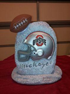 Ohio State Football stone