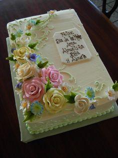 Floral sheet cake                                                                                                                                                     More