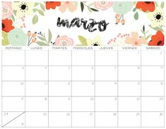 Cute Calendar For March 2020 – Calendar Template İdeas. Calendar March, Cute Calendar, Print Calendar, Calendar Pages, Calendar 2020, Calendar Design, Monthly Calendar Template, Free Printable Calendar, Monthly Planner