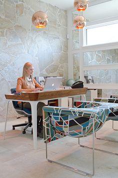 Drop it Modern's Office studio.