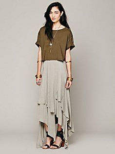 Layered Convertible Skirt in clothes-skirts